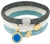 Marc Jacobs Logo Disc Pony bracelet set