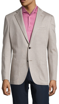 Luciano Barbera Cotton Notch Lapel Sportcoat
