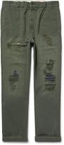 Levi's Vintage Clothing - Distressed Sanforizedtm Cotton-sailcloth Trousers