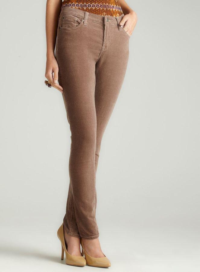 Max Jeans Skinny Cords In Bark