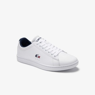 Lacoste Women's Carnaby Evo Tricolore Leather and Synthetic Sneakers