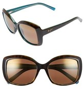 Maui Jim 'Orchid' 56mm Polarized Sunglasses