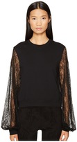McQ by Alexander McQueen Volume Sleeve Sweat Women's Clothing