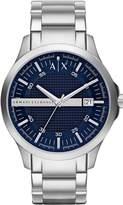 Giorgio Armani Classic AX2132 Men's Wrist Watches, Blue Dial