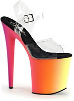 Pleaser USA Women's Rainbow 808UV Ankle Strap