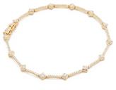 Ef Collection 14k Diamond Eternity Bracelet
