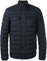 Moncler Faust padded jacket - men - Calf Leather/Feather Down/Polyamide - 2