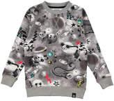Molo Romeo Long-Sleeve Space Sweatshirt, Size 4-10