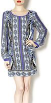 Glam Beverly Print Dress
