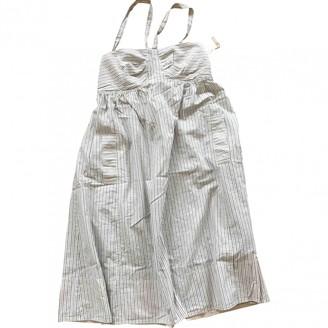 Madewell Beige Cotton Dress for Women