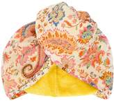 Etro wrapped hair towel