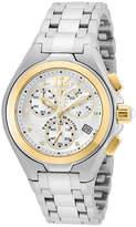 Technomarine TECHNO MARINE Techno Marine Womens Silver Tone Bracelet Watch-Tm-215024