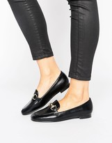 Missguided Buckle Detail Loafer