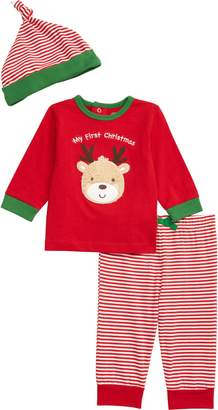 Little Me My First Christmas Top & Leggings Set
