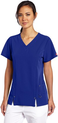 Dickies Women's Xtreme Stretch V-Neck Top