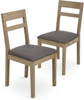 Marks and Spencer Set of 2 Dalton Dining Chairs