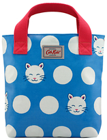 Cath Kidston Cath Kids Children's Cute Cat Mini Tote Bag, Cornflower Blue