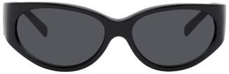 Versace Black Wrap Around Sunglasses