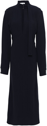 Victoria Beckham Cutout Stretch-cady Midi Dress