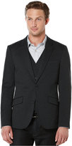 Perry Ellis Slim Ponte Knit Jacket