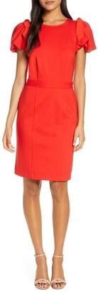 Rachel Parcell Bow Shoulder Detail Sheath Dress
