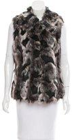 Rachel Zoe Mélange Mock Fur Vest