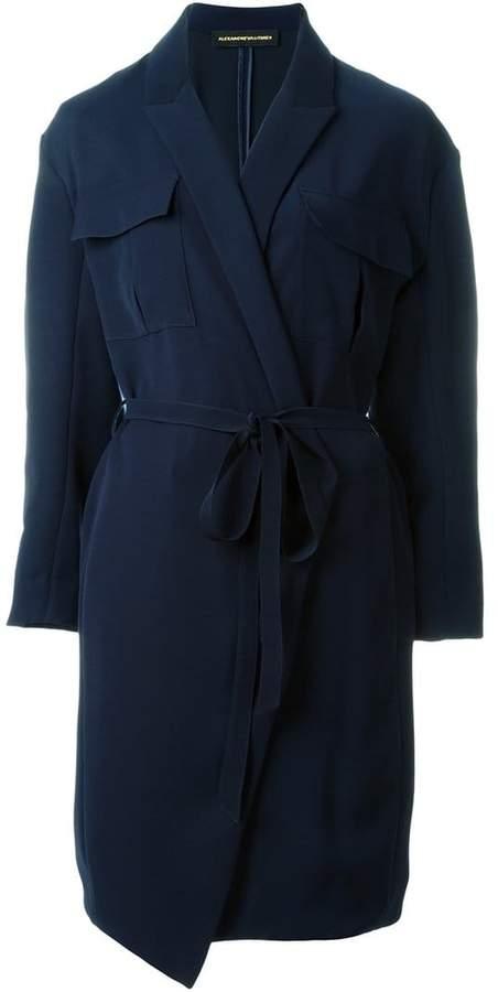 Alexandre Vauthier wrap dress