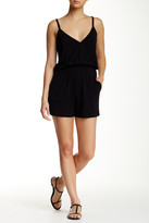 Laundry by Shelli Segal Solid Cover Up Romper