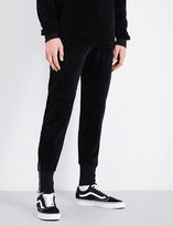Blood Brother Vulcan velour jogging bottoms