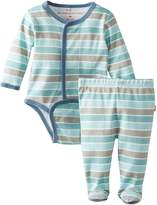 Magnificent Baby L/S Burrito Plus Pants Set, 6 Months, 1-Pack