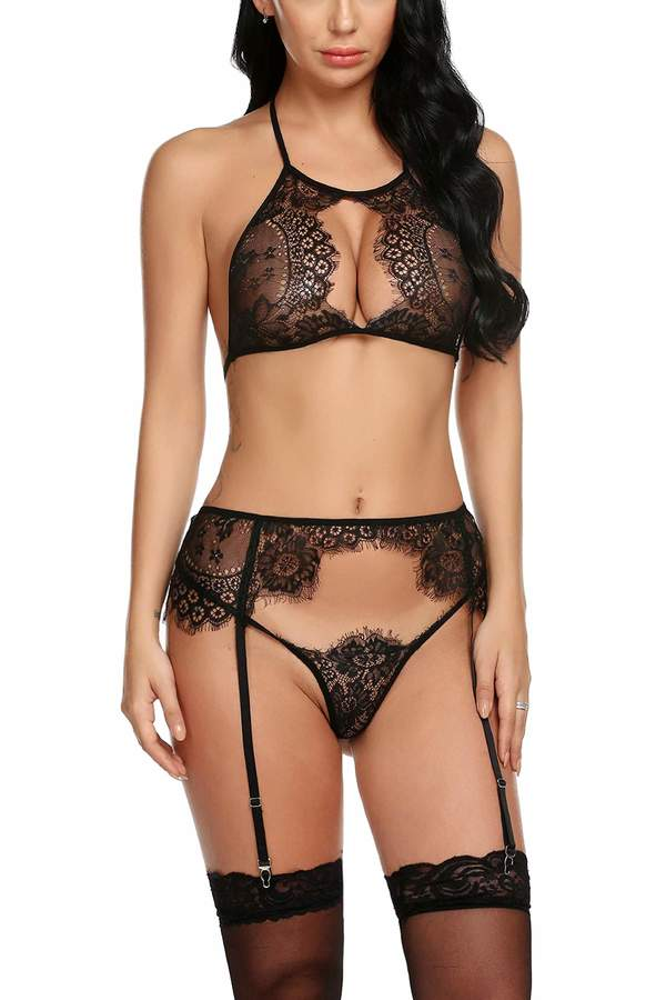 fde541cb564 Black And Purple Bra And Knickers - ShopStyle Canada