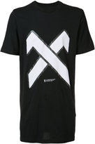 11 By Boris Bidjan Saberi X print T-shirt - men - Cotton - M
