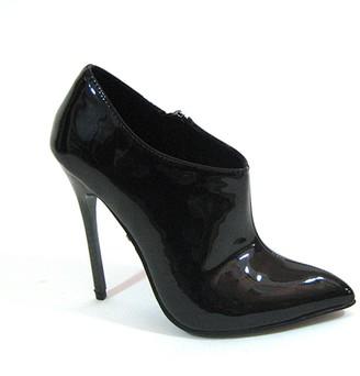 """The Highest Heel Women's Fierce-91 4.5"""" Calf High Boots with Carbon Fiber Heel Fashion"""