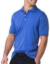 Chaps Big and Tall Cotton Interlock Polo Shirt