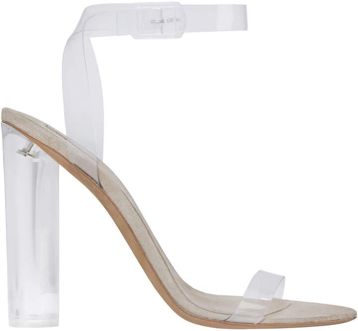 Yeezy Transparent Ankle Strap Sandals