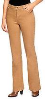 """Denim & Co. How Modern"""" Regular 5-Pocket Boot Cut Jeans"""
