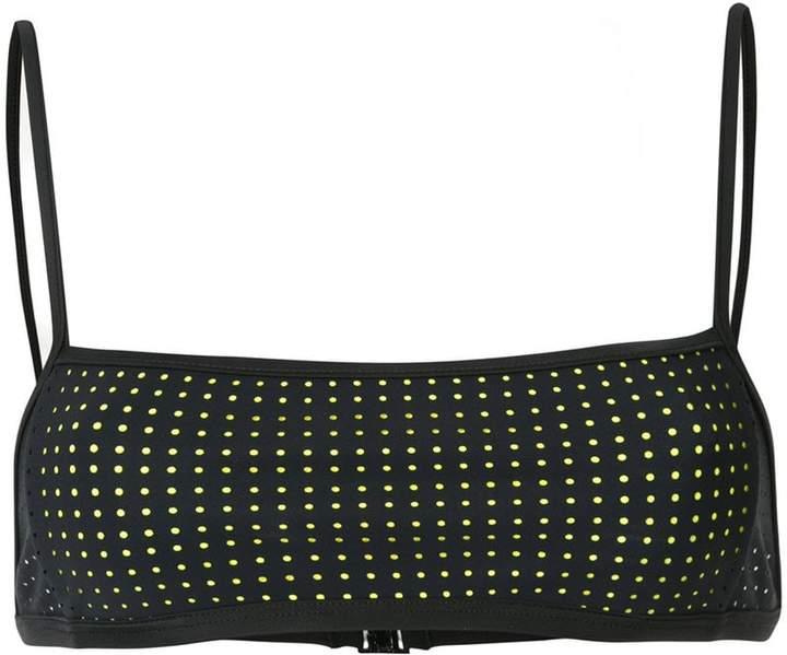 Dion Lee Perf Overlay Bandeau bikini top