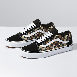 Vans Camo Check Old Skool