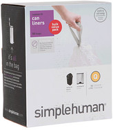 Simplehuman 50L Code Q Can Liners - 50 Pack