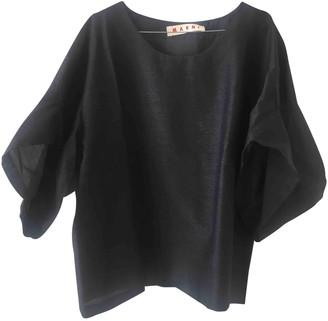 Marni Grey Wool Top for Women