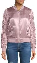 C&C California Women's Long-Sleeve Bomber Jacket