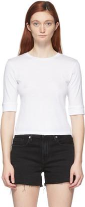 Frame White Le High Rise 70s T-Shirt