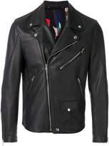 Paul Smith multi-zip biker jacket