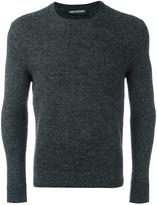 Neil Barrett melange jumper - men - Nylon/Alpaca - XL