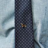 Blade + Blue Vintage Dachshund Tie Tack