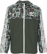 adidas camouflage print windbreaker jacket