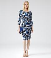 Zizzi FLORAL PRINT DRESS