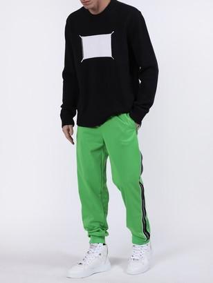 Givenchy Ticker Logo Tape Sweatpants