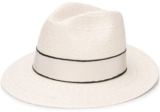 Eres Geometric-Woven Trilby Hat