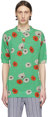 Marni Green Flower Polo